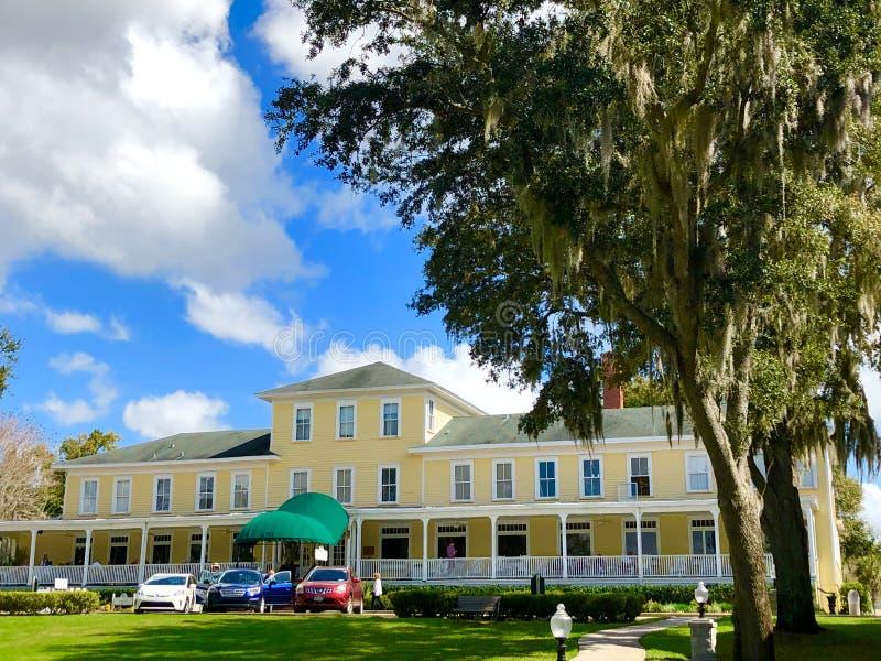 Auberge historique de Lakeside, bâti Dora, la Floride images stock