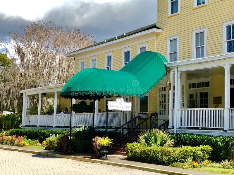 Auberge historique de Lakeside, bâti Dora, la Floride photos stock