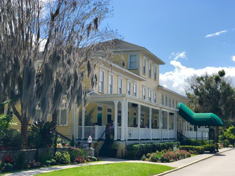 Auberge historique de Lakeside, bâti Dora, la Floride image stock