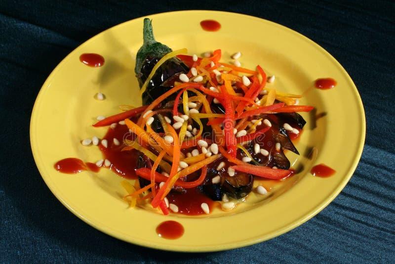 aubergine royaltyfri foto