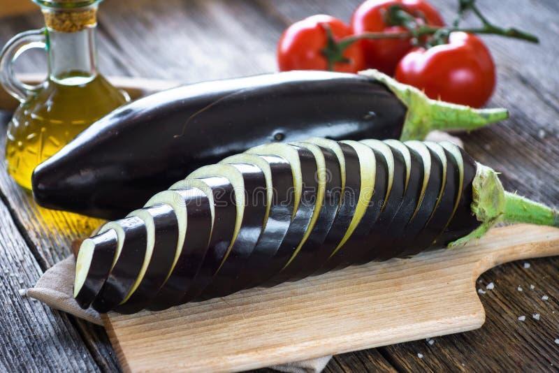 aubergine royaltyfri fotografi