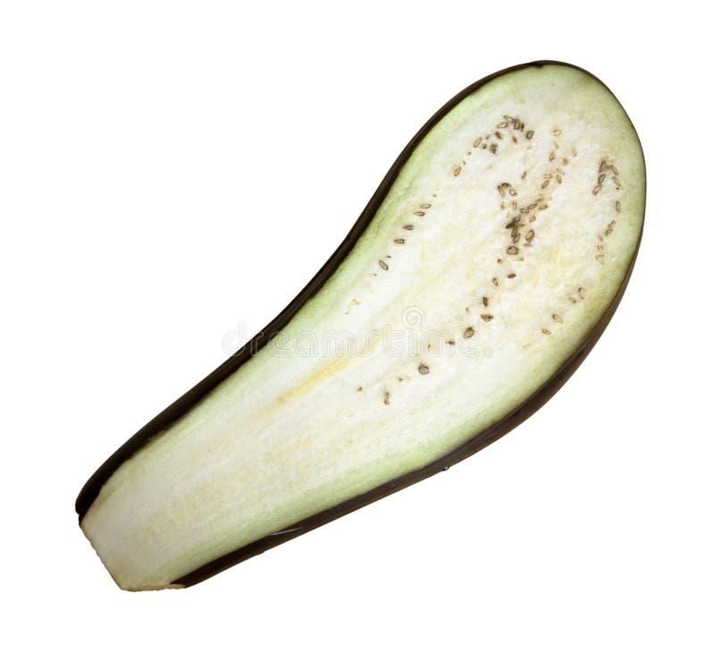 aubergine plasterek obrazy stock