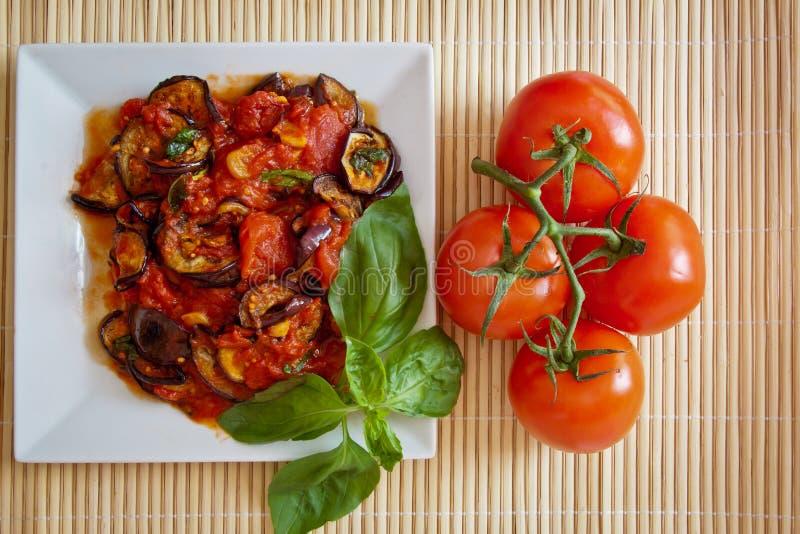aubergines świezi kumberlandu pomidoru pomidory fotografia royalty free