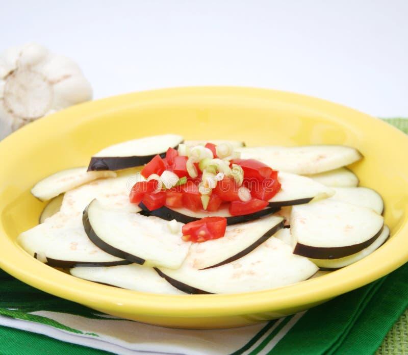 aubergines свежие стоковые фотографии rf