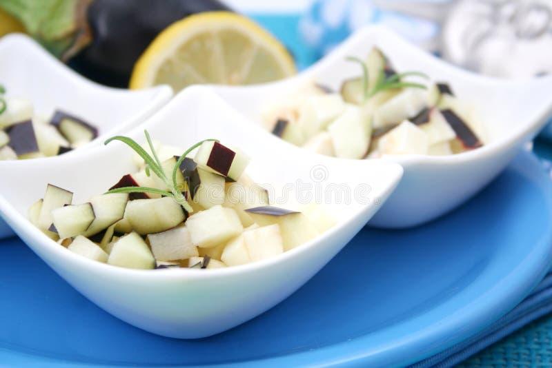 aubergines свежие стоковые фото