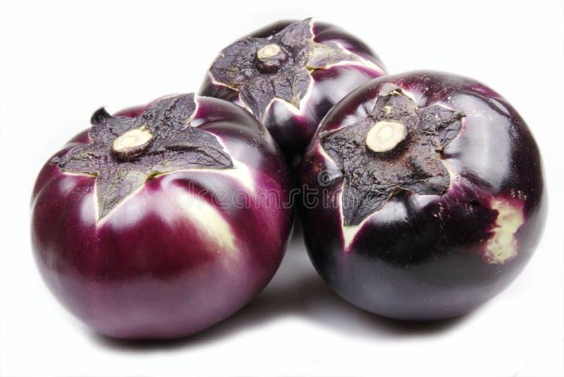 Aubergines royalty-vrije stock afbeelding