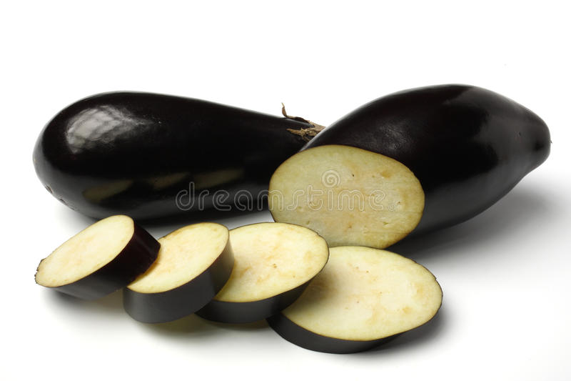aubergines photographie stock