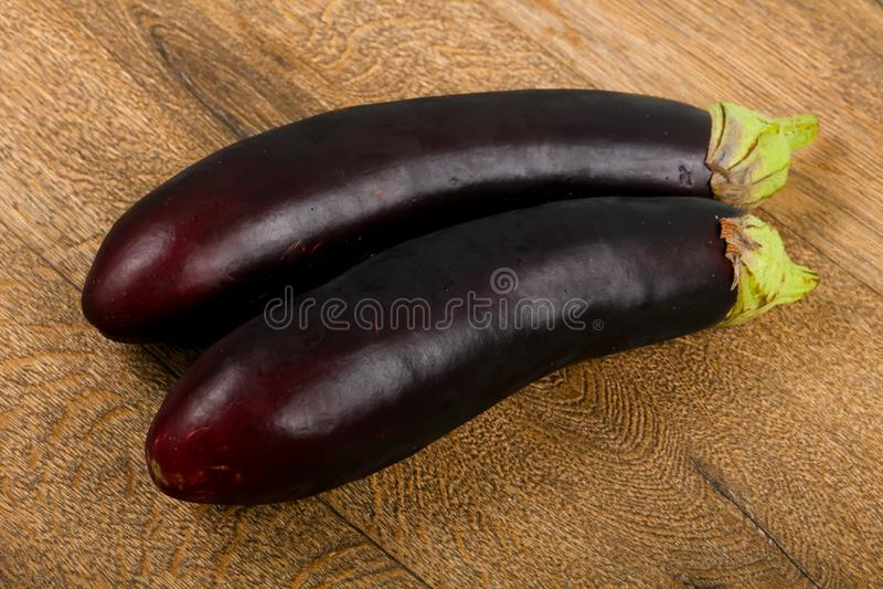 Aubergines stock afbeelding