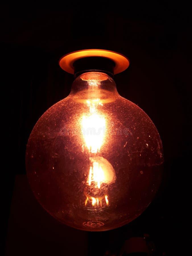 Auburn-lamp stock fotografie
