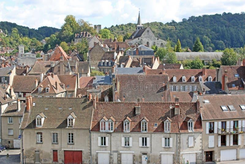 Aubusson, Francja zdjęcia stock