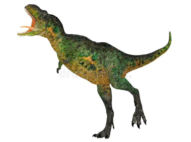 Aucasaurus ilustração stock