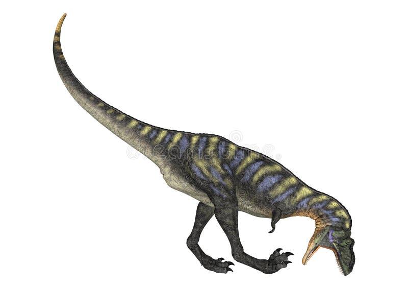 Aucasaurus del dinosaurio stock de ilustración