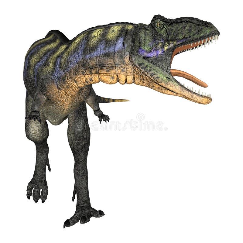 Aucasaurus do dinossauro ilustração stock