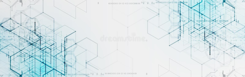 Auch im corel abgehobenen Betrag Digitaltechnik und Technik backgrou vektor abbildung