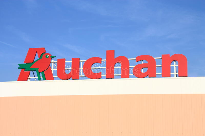 Download Auchan Editorial Stock Photo - Image: 16735413