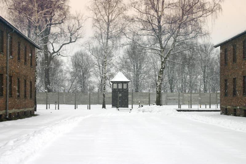 Auchwitz foto de archivo libre de regalías