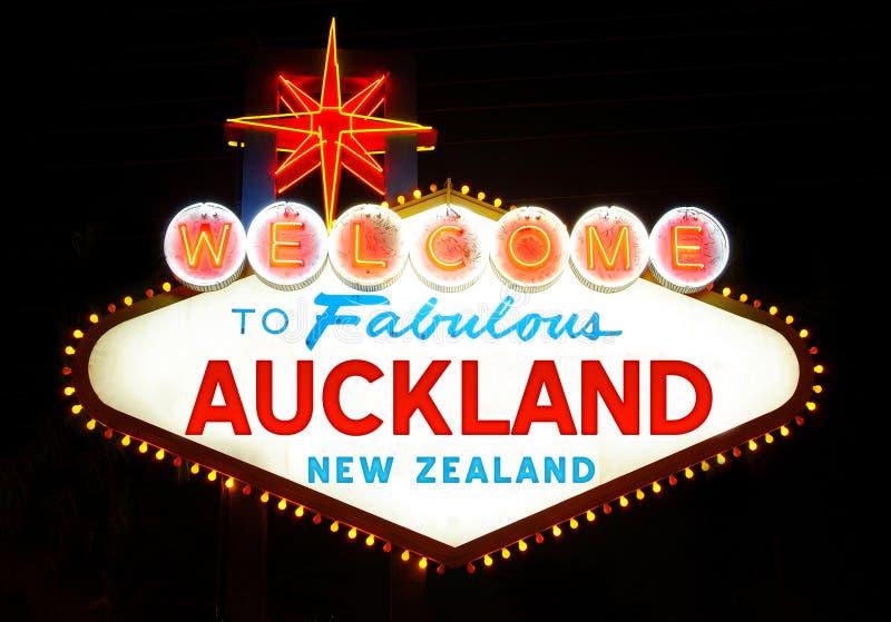 Auckland fotografie stock