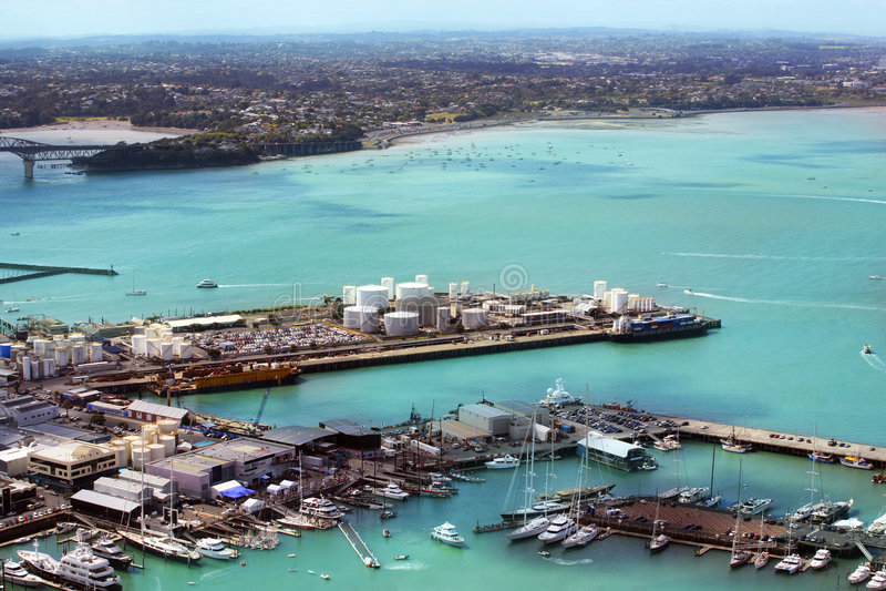 Auckland foto de stock royalty free