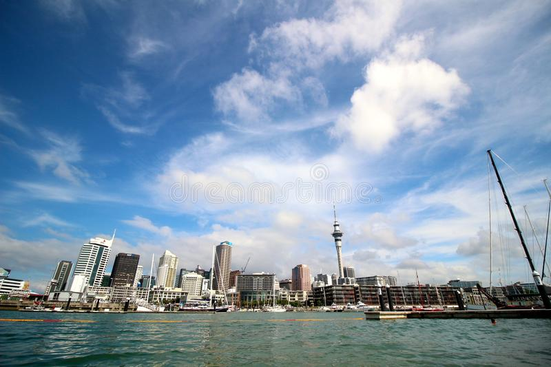 auckland image stock