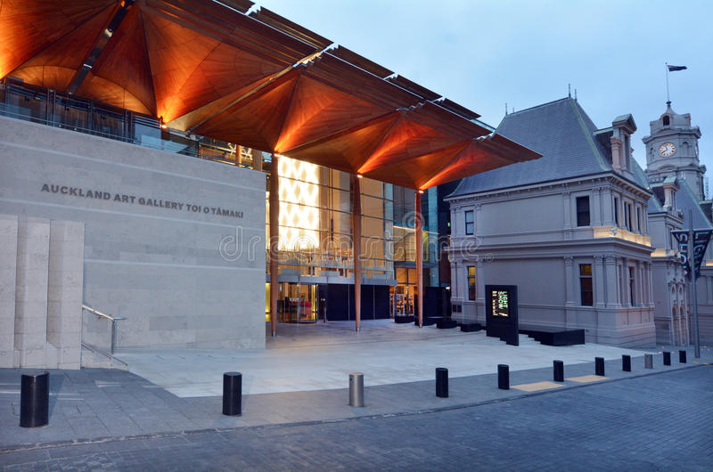 Auckland Art Gallery - New Zealand. AUCKLAND, NZL - DEC 16 2014: Auckland Art Gallery Toi o Tamaki.It's the principal public gallery in Auckland that has the stock photography