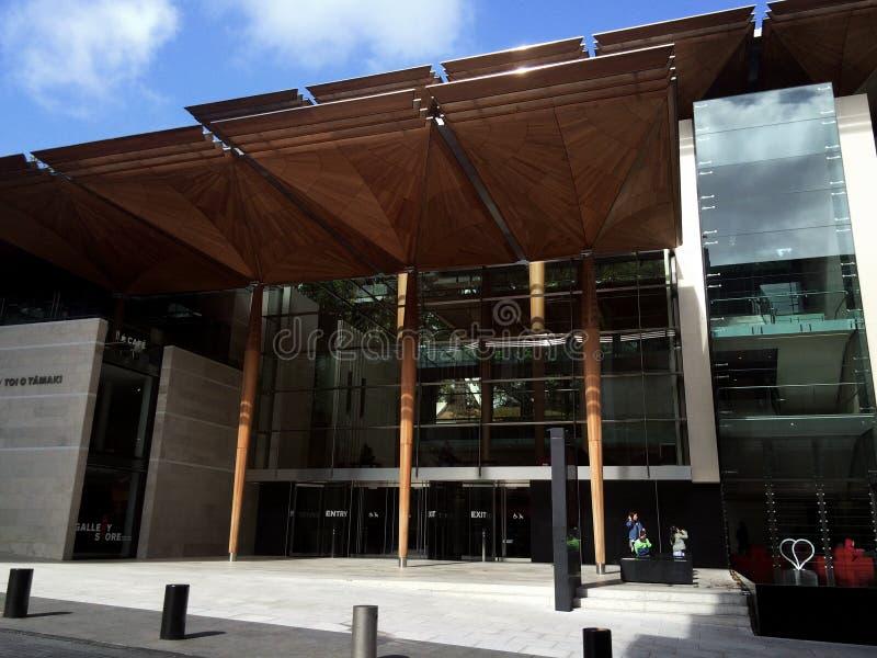 Auckland Art Gallery Toi o Tamaki a fait face image libre de droits