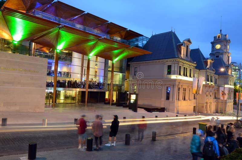 Auckland Art Gallery Toi o Tamaki - Nueva Zelanda imagenes de archivo