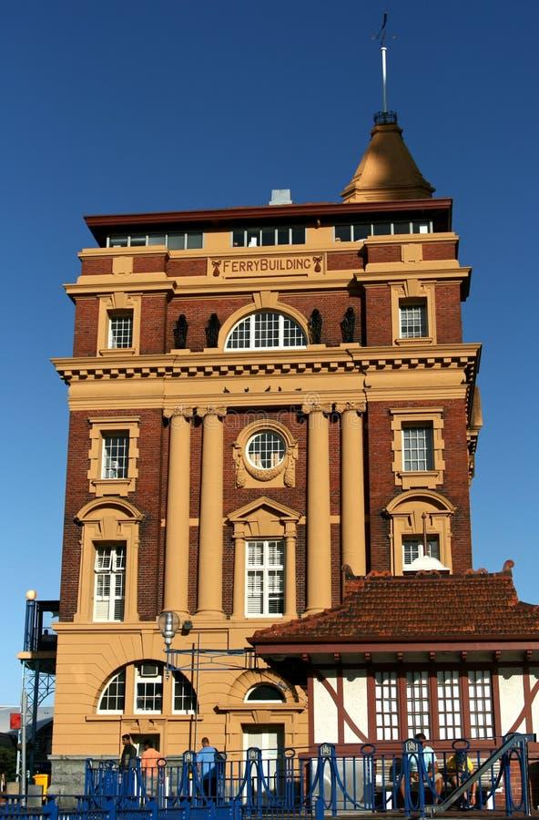 auckland budynku prom nowy Zealand fotografia stock