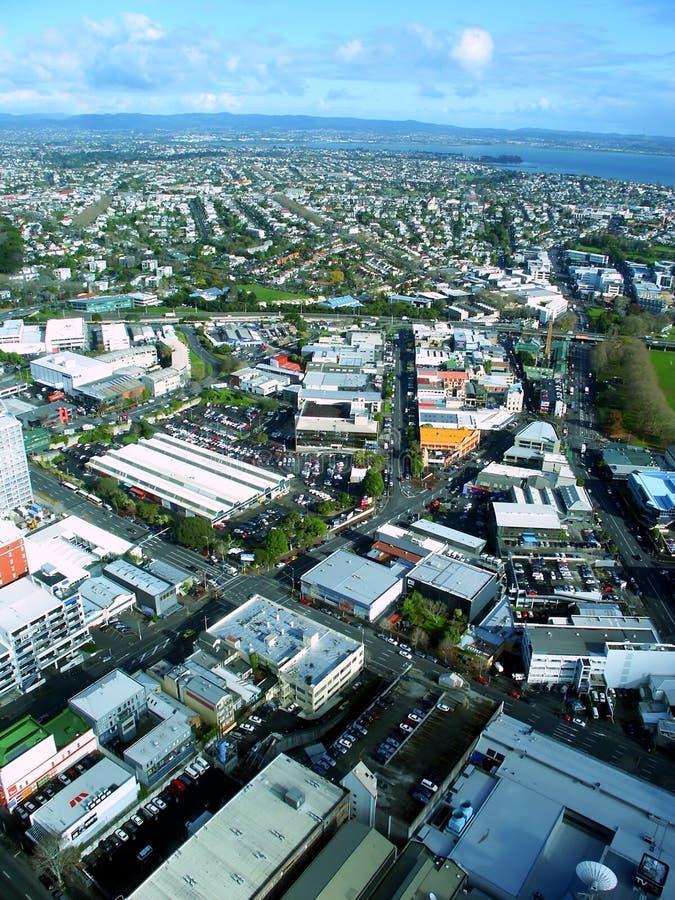 Auckland céntrica Nueva Zelanda imagenes de archivo