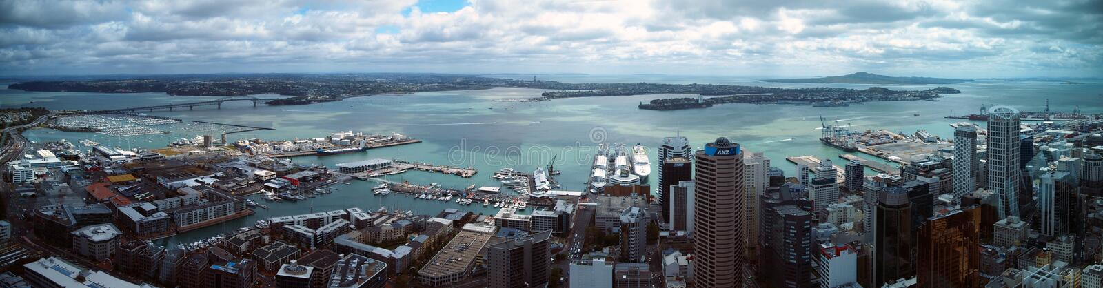 Auckland CBD images stock