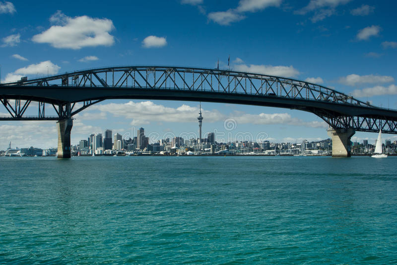 Auckland - a cidade das velas foto de stock royalty free