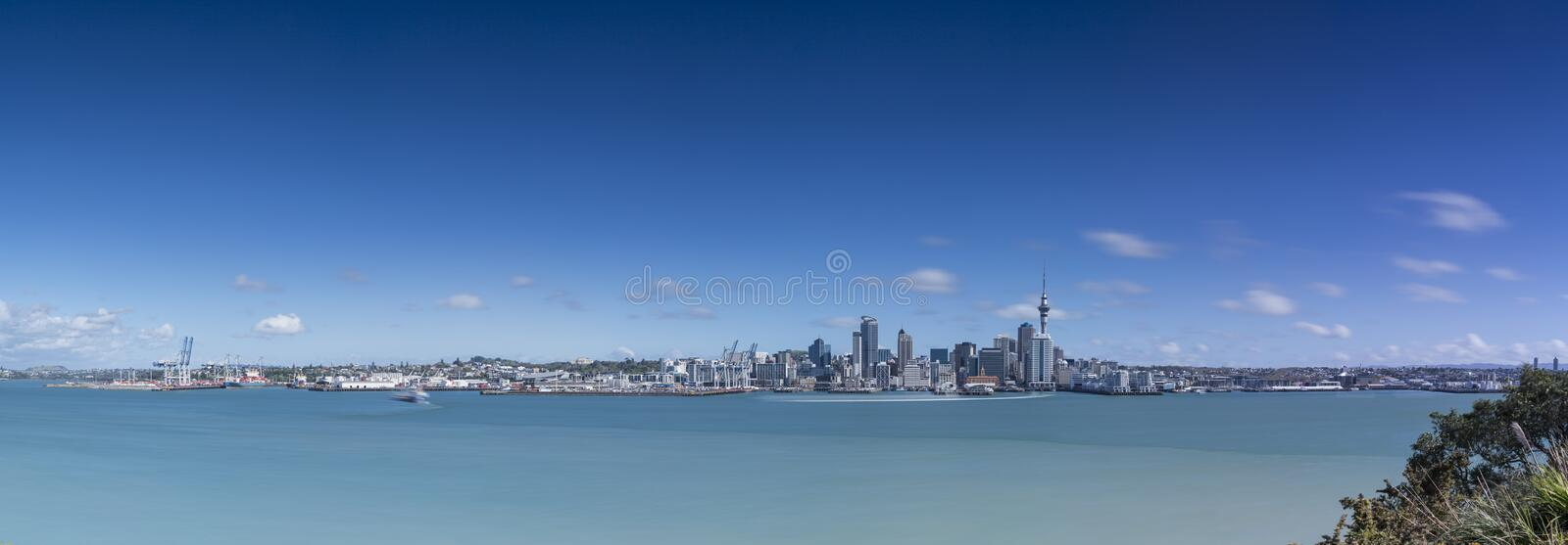Download Auckland City From North Shore Stock Image - Image: 33861279
