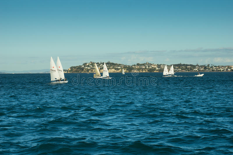 Auckland - The City of Sails stock photography