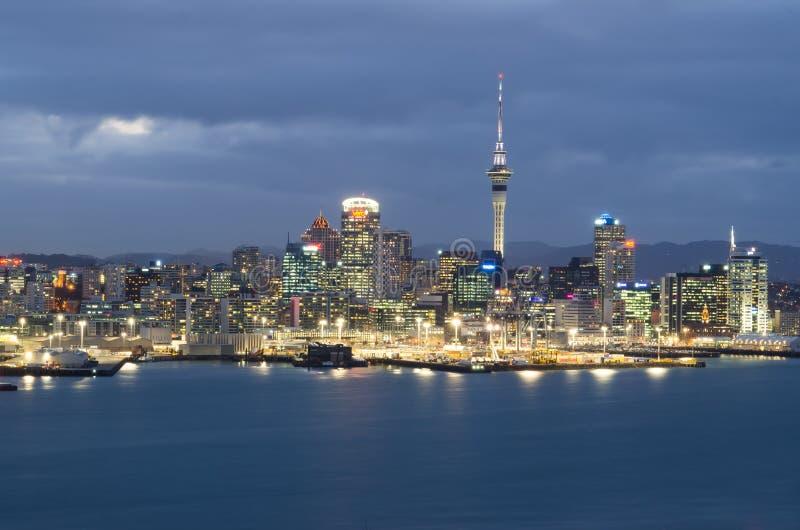 Auckland city skyline royalty free stock image