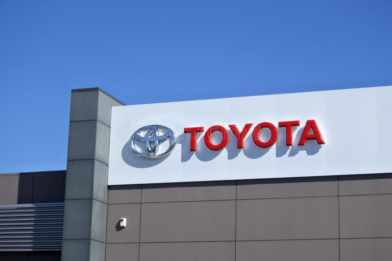 Auckland City Toyota Motor Corporation royalty free stock photography