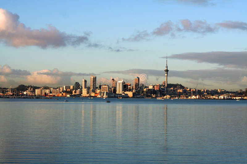 Auckland city view royalty free stock photos