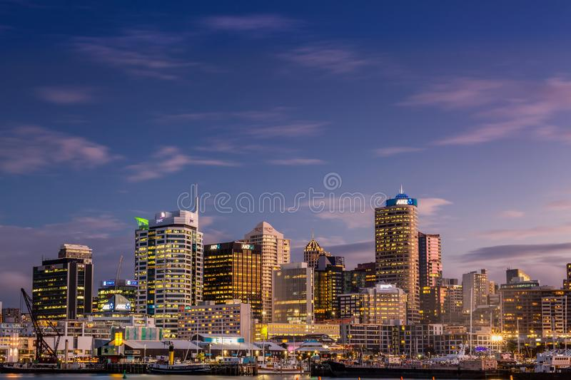 Auckland city view royalty free stock image