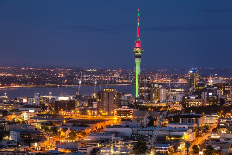 Auckland city view royalty free stock images