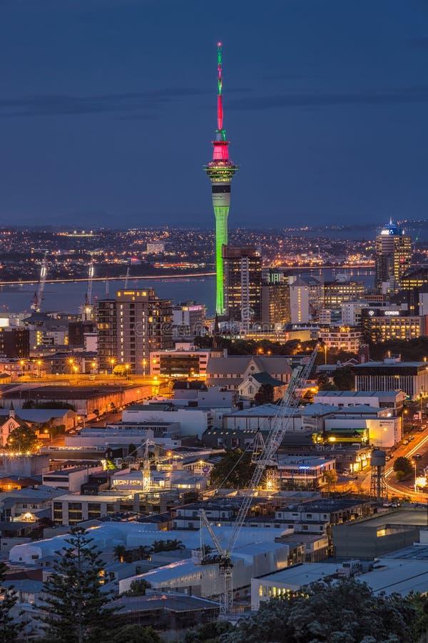 Auckland city view stock photos