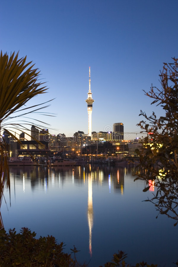 Auckland Dawn royalty free stock photos