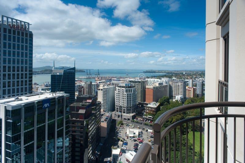 Auckland du centre photographie stock