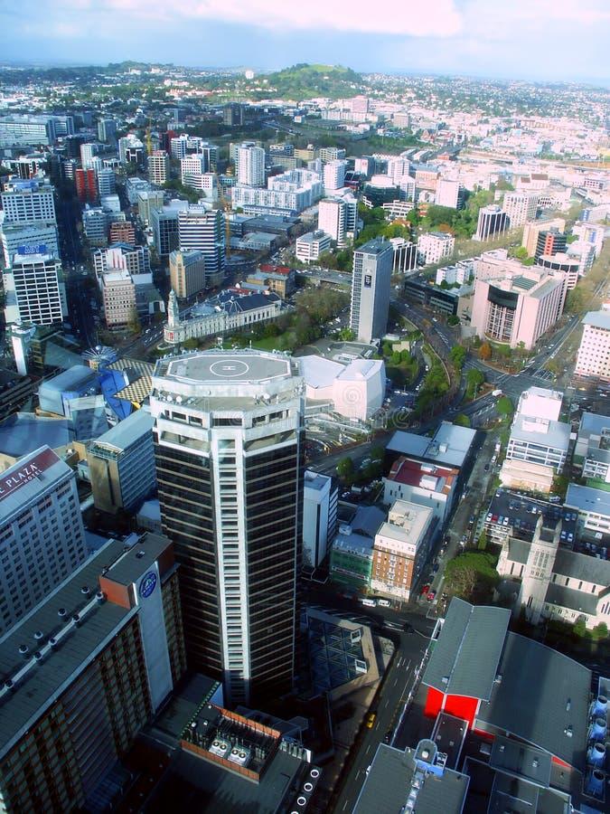 Auckland du centre Nouvelle Zélande photo stock