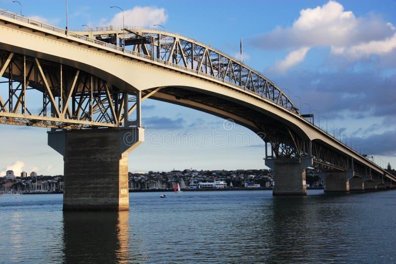 Auckland Harbour Bridge royalty free stock photos