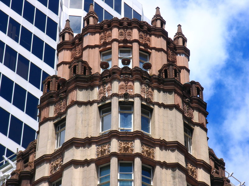 Auckland History Building. History Building In New Zealand royalty free stock images
