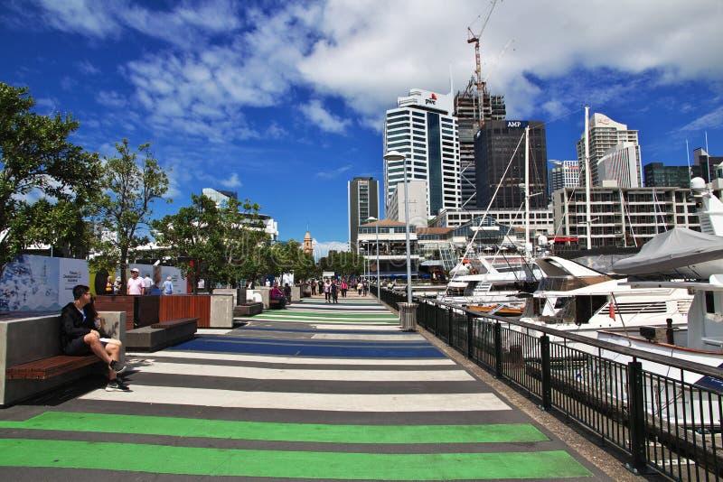 Auckland ist eine sch?ne Stadt in Neuseeland lizenzfreies stockfoto