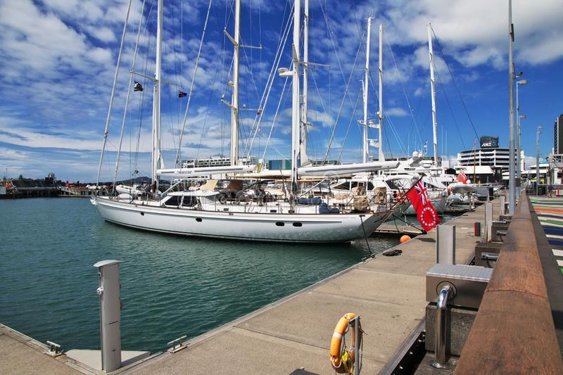Auckland ist eine sch?ne Stadt in Neuseeland stockfotografie