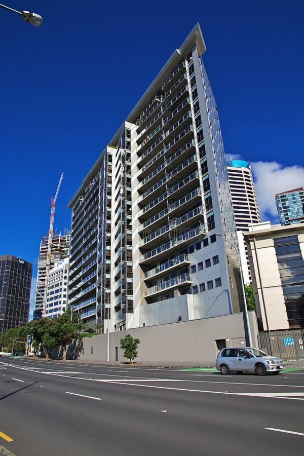 Auckland jest pi?knym miastem w Nowa Zelandia obraz stock