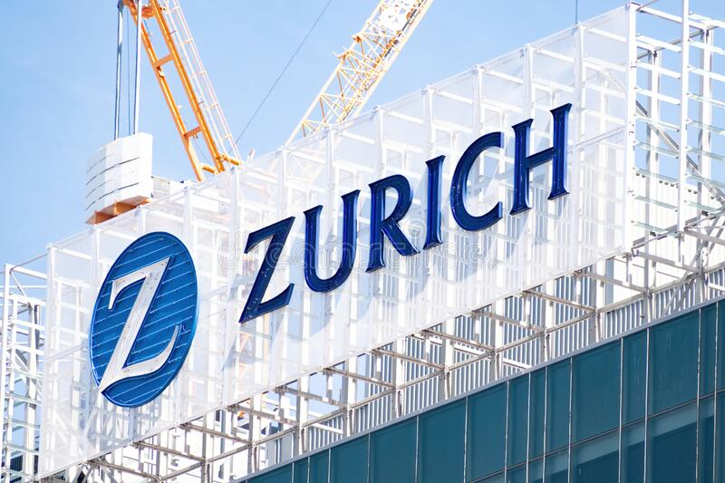 Zurich Insurance Logo Editorial Image Image Of Coverage 95534185