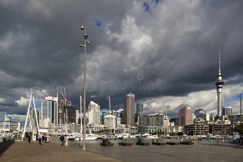 Auckland Nieuw-Zeeland stock foto