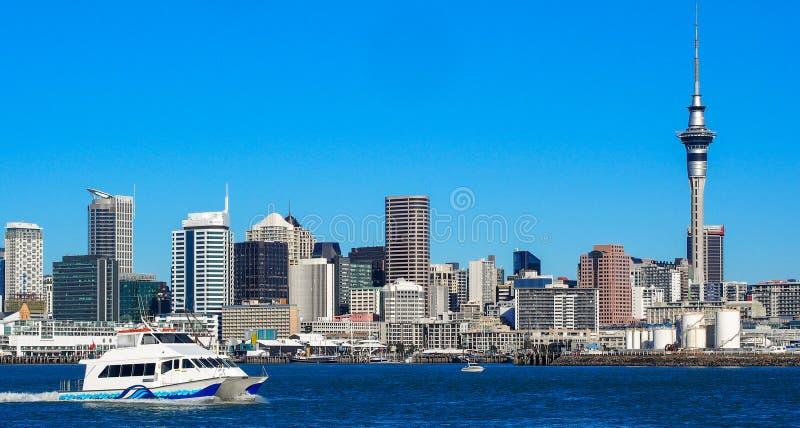Auckland, Nueva Zelandia foto de archivo libre de regalías