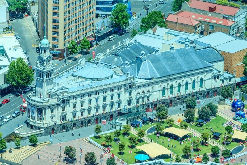 Auckland, nuevo Selandia 12 de diciembre de 2013 Ciudad de Auckland del foto de archivo libre de regalías
